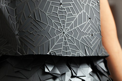origami dress details 2