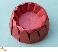 IGO 271 Braided Red Bowl