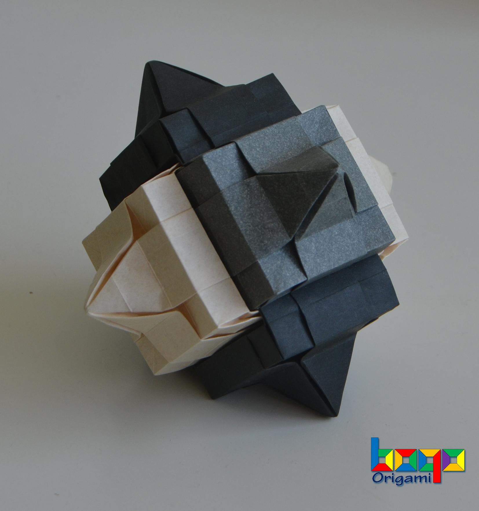 Modular Cube - 2 elephant hide
