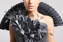 origami dress fashion
