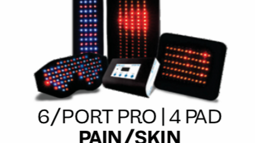 Pain/Skin 6port 4pad