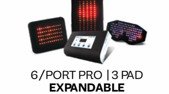 Expandable 6port  3pad