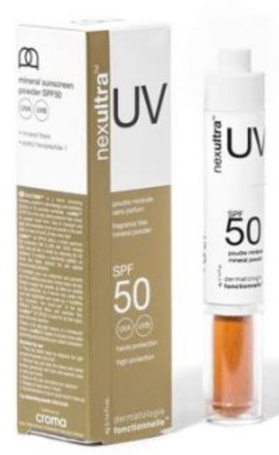 NEXULTRA UV Fragrance Free Mineral Powder SPF50 UNIVERSKIN 4g