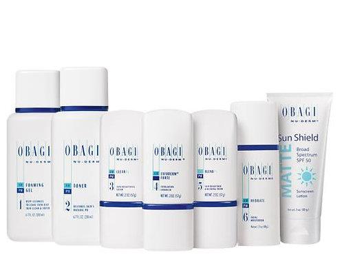 Obagi Nu Derm Fx Skin Transformation System Normal Oily Skin