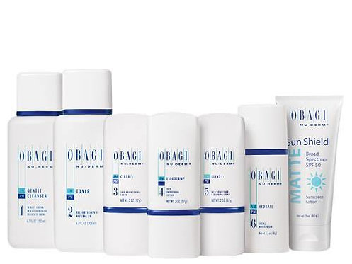Obagi Nu Derm Fx Skin Transformation System Normal Dry Skin