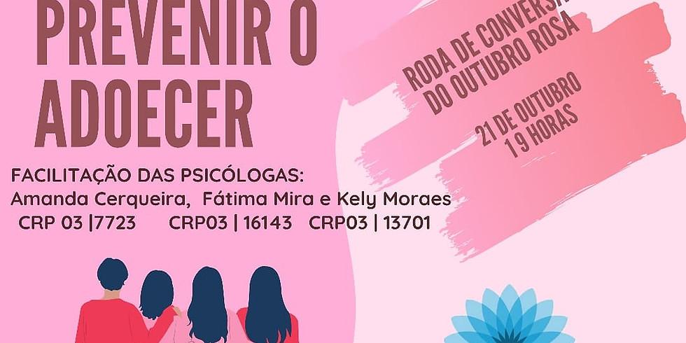 RODA DE CONVERSA - OUTUBRO ROSA