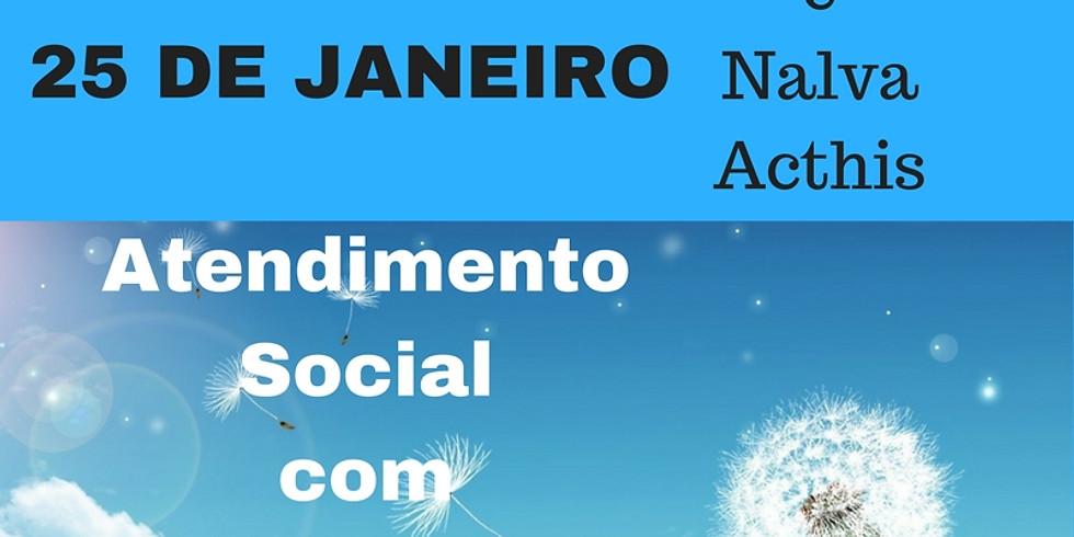 Atendimento Social com Barras de Access