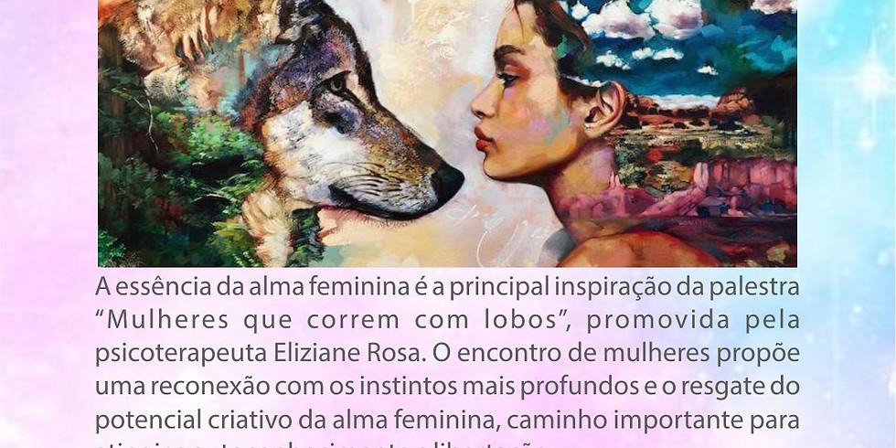 """Palestra """" Mulheres que correm com lobos""""."""