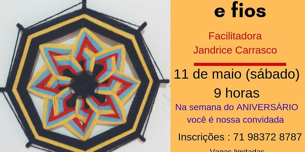 OFICINA DE MANDALA EM FIOS