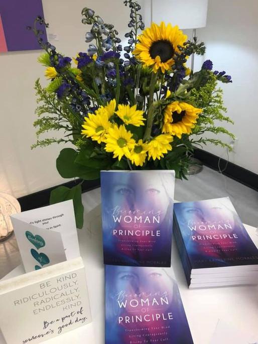 First-ever Women of Principle Gathering & Book Launch. Join the Fun @Women of Principle Facebook.