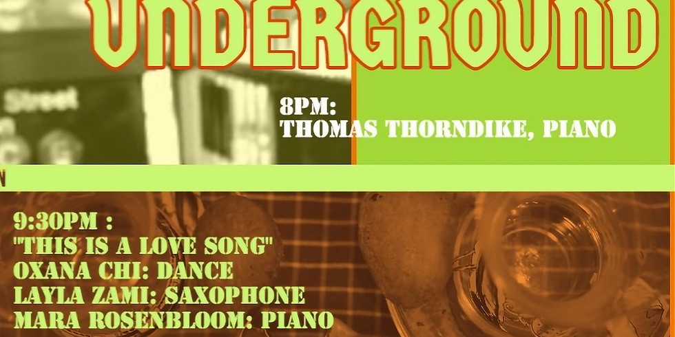 """w/ Oxana Chi & Layla Zami """"This is a Love Song"""" @ Instrumental Underground Series"""