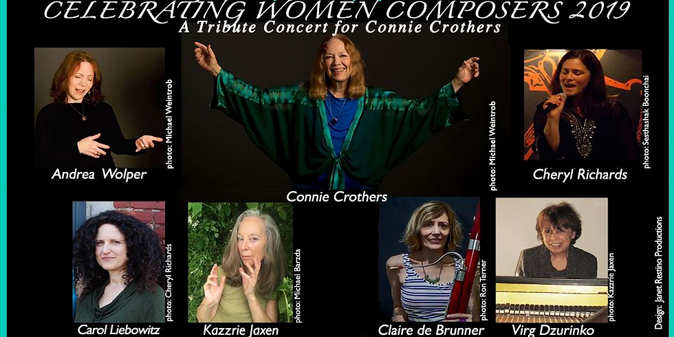 Tribute Concert for Connie Crothers @ Metro Baptist Church, NYC