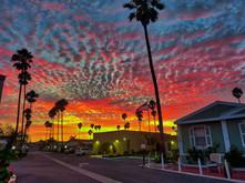 Sunset at Hollywood Beach