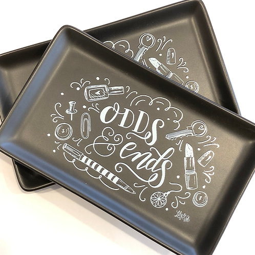 inspirational ceramic trinket dish 'odds & ends' 'you are my sunshine'