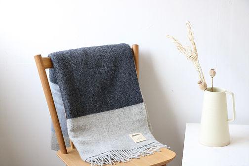 Blanket Mcnutt x Industry - Blue stripe.