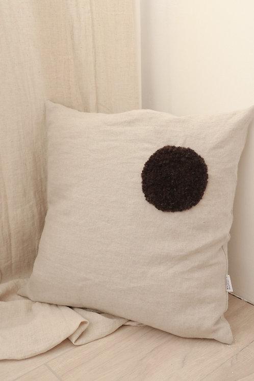 Linen cushion - Dot