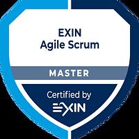 EXIN Agile Scrum Master badge