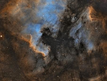 Mosaico de la muerte terminado!! Nebulosa Norte America y Pelicano