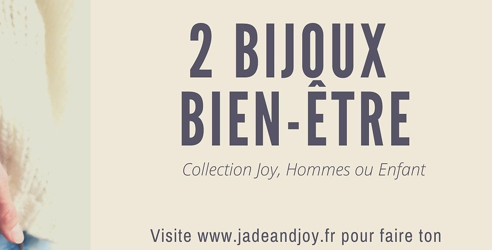 Bon Cadeau 2 Bijoux Bien-Être