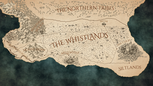 Map of the Whistlands (The Cyneweard era)