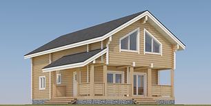 24'x42' log cabin