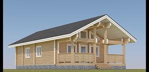 24'x36' Log Cabin