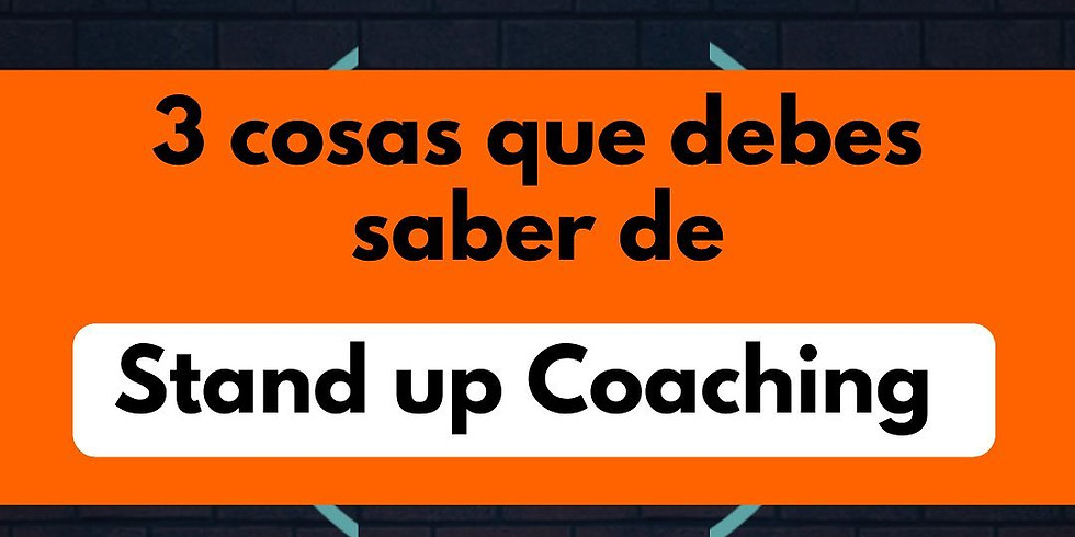 Stand Up Coaching Cultural Emocional