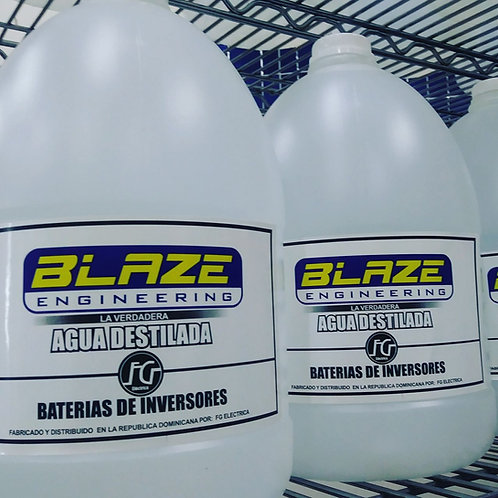 Agua Destilada para Baterias