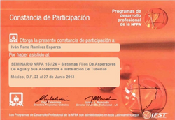Cert NFPA 1524