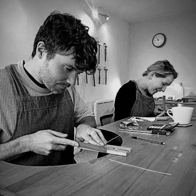 Customers creating their own Wedding rings