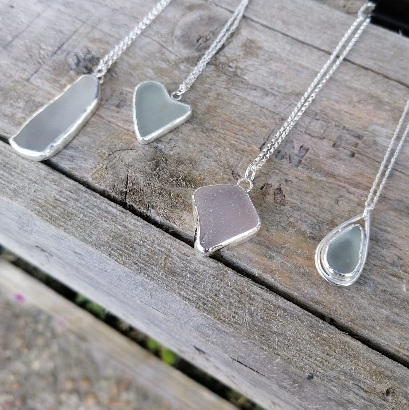 Sea Glass Pendants - FULLY BOOKED