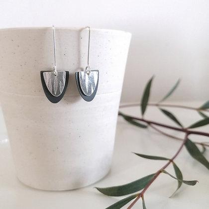Vine Layered Drop Earrings
