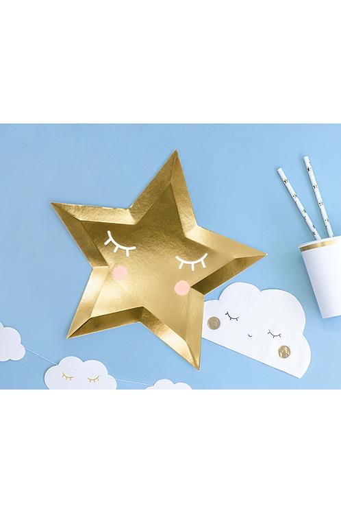 Pappteller Trend - Ø 27cm - Little Star