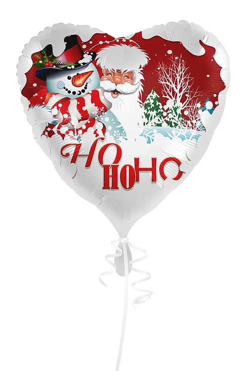 Weihnachts-Ballons verschiedene Motive