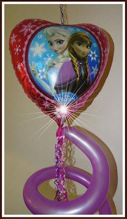 Ballongeschenk zum Geburtstag