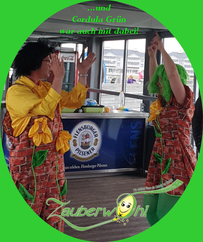 Wir tanzen Cordula Grün