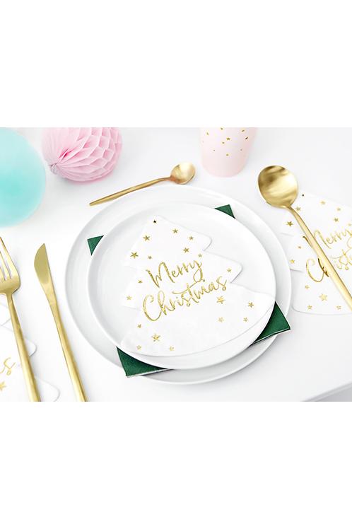 Servietten Trend - 16cm - Merry Christmas