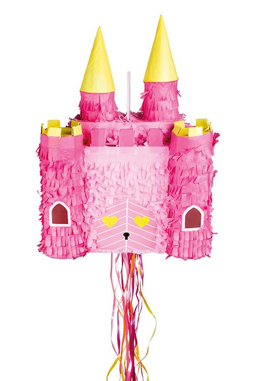 Pinata XL Schloss - mit Ziehbändern
