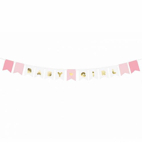 Bannergirlande - Baby Girl