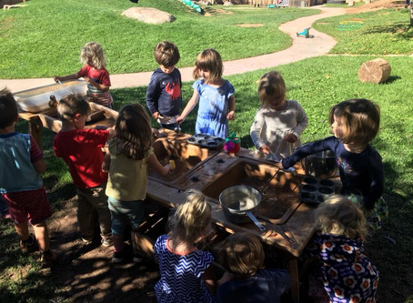 We are a play-based preschool