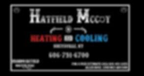 Hatfield Mccoy business card