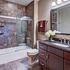 Port Washington Transitional Main Bath 1
