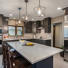 Eclectic Kitchen Renovation . Wauwatosa . Design Tech Remodeling