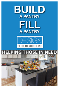 Build a Pantry Fill a Pantry Fundraising Program by Design Tech Remodeling