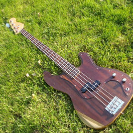 """Precision style bass made from old pianos. This is a long scale (34"""" / 860mm) bass. Guide price £550"""