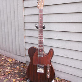 Tele style guitar made from piano wood. Wilkinson hardware and pickups -guide price £550
