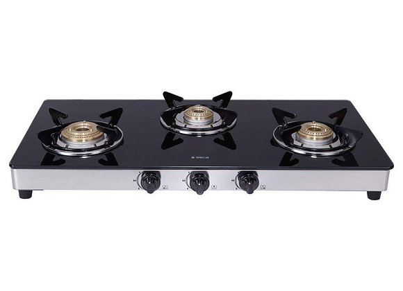 ELICA 773 CT DT VETRO (Double Drip Tray with Jumbo Burner)