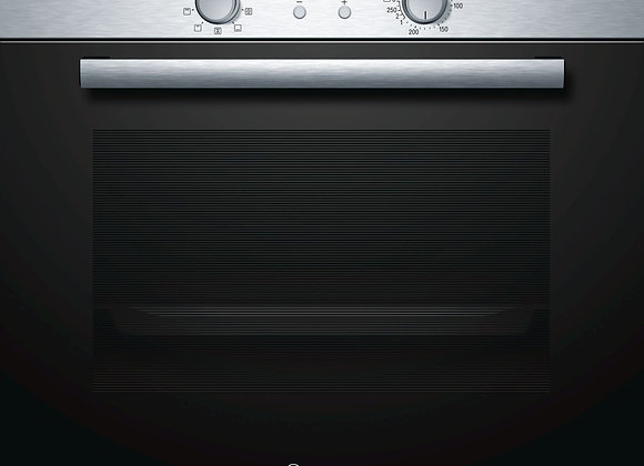 Bosch Serie   2 60 cm Stainless steel Electric built-in oven HBN531E4F