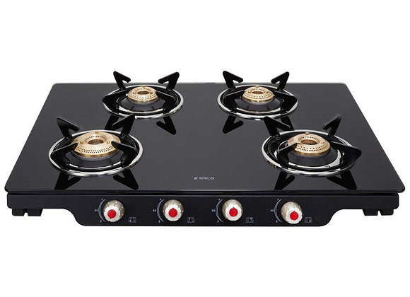 ELICA PATIO ICT DT 469 BLK S 4B stove Double Drip Tray with Jumbo Burner