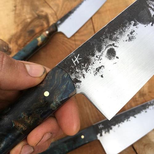 the maker's mark _#chefknife #handmade